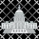 Us Capitol Washington Icon