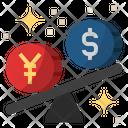 Us dollar appreciate Icon