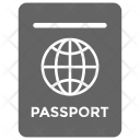 Us Passport International Icon