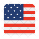 America American Flag Icon