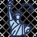 Usa Statue Liberty Icon