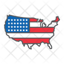 Usa America Country Icon