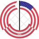 Usa Country Flag Icon
