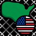 Usa Flag United States Flags Icon