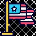Usa Flag Independence Day Flag Icon