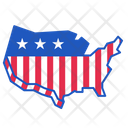 Us Election Usa Icon
