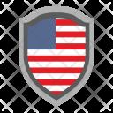 Usa Shield Icon