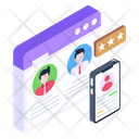 Usability User Experience Web Feedback Icon