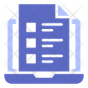 Assessment Evaluation Usability Icon