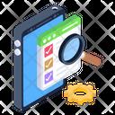 Web Analysis Usability Testing Usability Analysis Icon