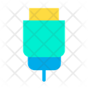 Wire Data Cable Icon
