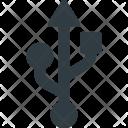 Usb Port Symbol Icon
