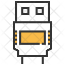 Usb Type A Icon