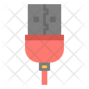 Usb Cable Interface Icon