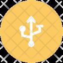 Usb Symbol Sign Icon