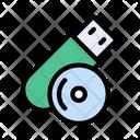 Usb Disc Drive Icon