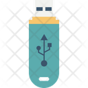 Data Saver Flash Data Stick Disk Device Icon