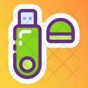 Usb Data Usb Peripheral Device Icon