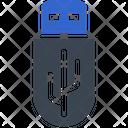 Data Drive Pendrive Icon