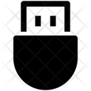 Usb Data Save Icon