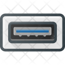 Usb Port Symbol Icon