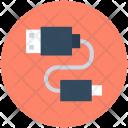 Usb Cable Micro Icon