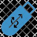 Usb Data Drive Icon