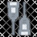 Usb A Female Connector Usb A Female Connector Icon
