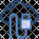 Storage Usb Cable Computing Icon
