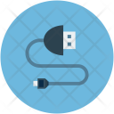 Usb Cable Connector Icon