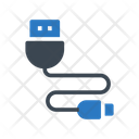 Usb Connection Wire Icon