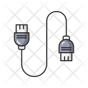 Usb Cable Connection Icon