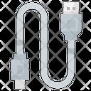 Usb Cable Usb Plug Usb Cord Icon