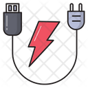 Adapter Power Cable Icon
