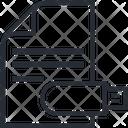 Usb Data Pendrive Data File Icon