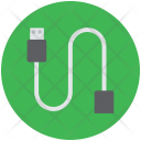 Usb Data Cable Icon