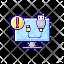 Usb Cord Cable Icon