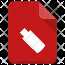 Usb file Icon