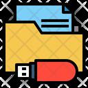 Usb Folder Usb File Folder Icon