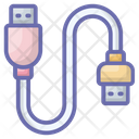 Usb Jack Cable Icon