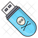 Malware Virus Usb Icon