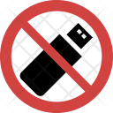 Usb not allowed Icon