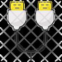Usb Otg Connetor Double Usb Usb Icon