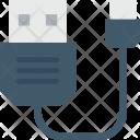 Usb Cable Cord Icon