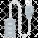 Usb Port Usb Cable Usb Plug Icon