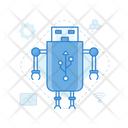 Usb Robot Icon