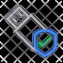 Usb Security Icon