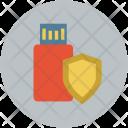 USB shield Icon