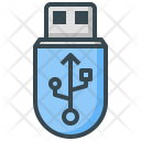 Stick Usb File Icon