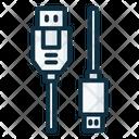 Usb To Micro Usb Icon